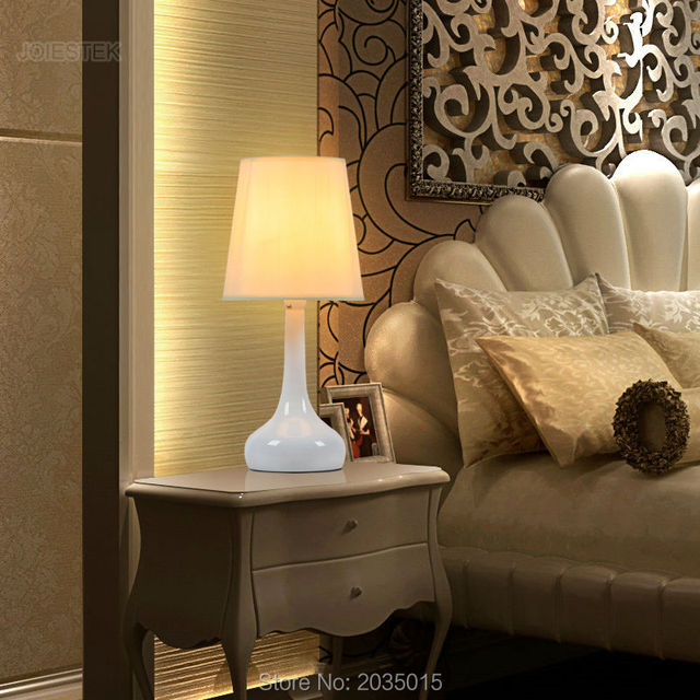 Modern High Quality Hand Drawing Decor Ceramic Table Lamp Desk Lamp Reading Light For Living Room Bedroom T2004