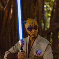YDD Plus 100 см световой меч металлический меч игрушка Jedi sith Luke Light Saber Force FX Heavy Dueling перезаряжаемый меняющий цвет звук