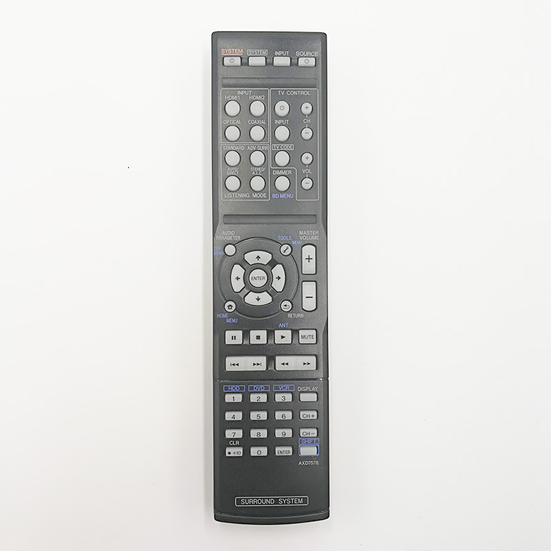 original remote control axd7578 for pioneer htp-sb300  surround system theater pioneer home theater system mcs 434 japan import