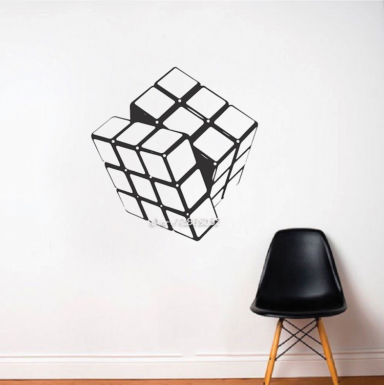 Rubiks Cube Home Decor Wall Stickers Vinyl Removable Wall Decals Decor Kids  Room Wallpaper Autocollant Mural. Online Get Cheap Furniture Cube  Aliexpress com   Alibaba Group