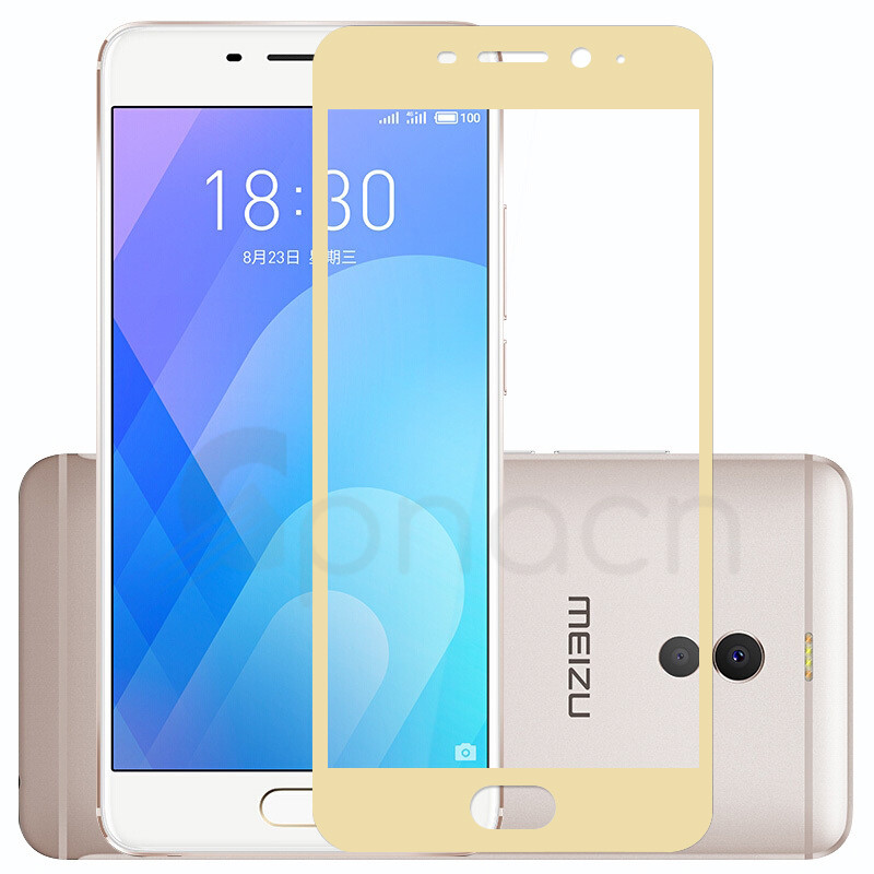 9D Protective Glass on the For Meizu M6 M5 M3 Note M6S M6T M5S M5C M3S Pro 6 7 Plus Tempered Screen Protector Glass Film Case