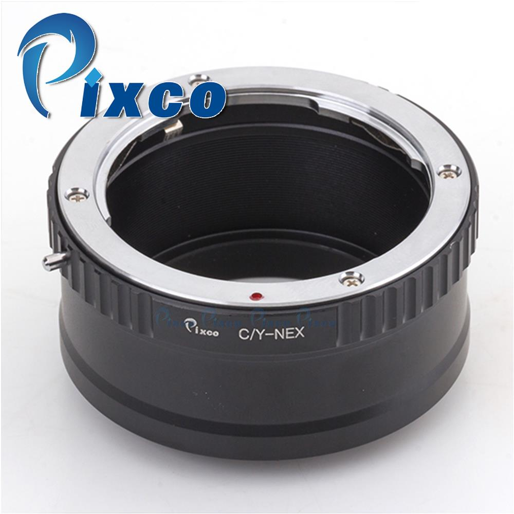 Pixco Lens Mount Adapter Ring Suit for Contax C/Y CY Lens to Sony NEX A5000 A3000 NEX-3 NEX-5 NEX-5T NEX-3N NEX-3C NEX-5N  Camer