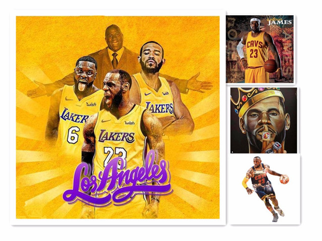 quality design fc7ed b8d52 US $6.29 47% OFF|azqsd cheia de diamantes pinturas ponto chuz lebron james  lakers jersey nightmare before christmas 5d diamond painting custom -in ...