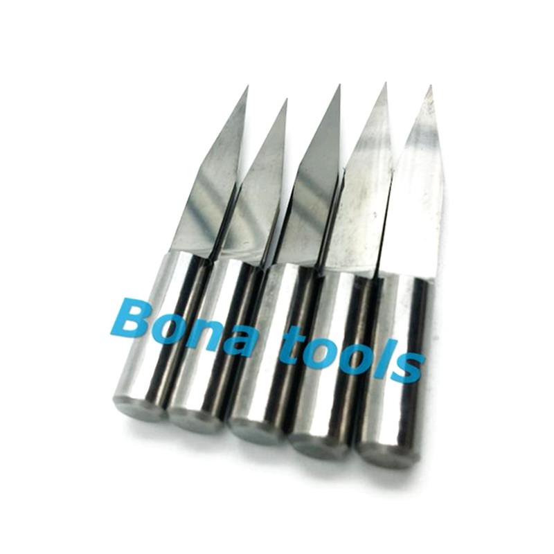 Free Shipping 10pcs lot 6mm 20 Deg 0 1mm Tip Carbide Flat bottom CNC Router Bits Milling Cutters Carving Engraving For Wood in Milling Cutter from Tools