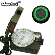 Портативный военный армейский компас lensatic призматический