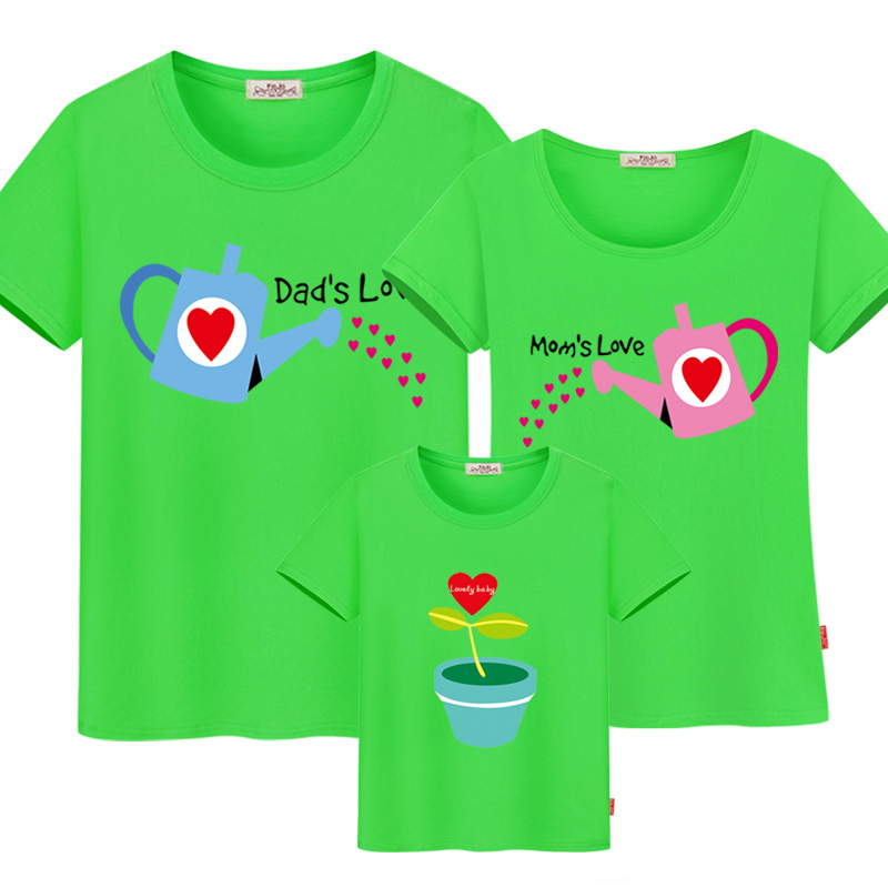 Mom and daughter matching clothes family matching clothes cotton family matching outfits father mother son family look t-shirt mother and daughter clothes short sleeved t shirt dresses family matching outfits baby girl clothes girls clothing long dress
