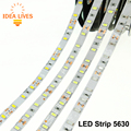 LED Strip 5630 DC12V Flexible LED Light 60 LED/m 5m/lot Warm White / White / Cold White / Red / Green / Blue Color