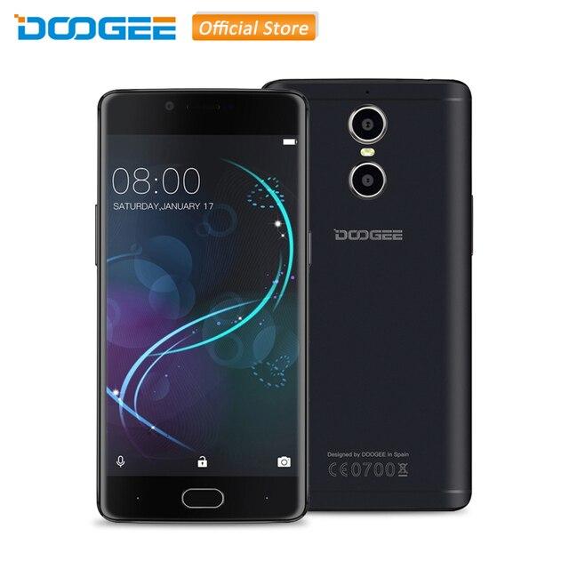 DOOGEE Shoot 1 2GB RAM 16GB ROM 5.5 inch QHD Android 6.0 MTK6737T Quad Core 4G LTE Smartphone 3 Cameras 13.0MP+8MP Fingerprint