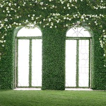 Vinyl Photography Background  Computed Printed Flower Plant Window Wedding Backdrops for Photo Studio CM-5940