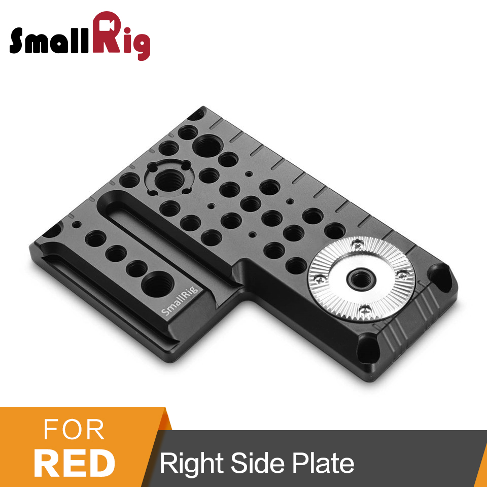 SmallRig Camera Right Side Plate For RED SCARLET-W/ EPIC-W/RAVEN/ WEAPON Right Side Plate -1848 d tap to fhj 1b 6pin for camera red epic gemini red scarlet w red raven red weap power cable