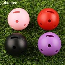 Gohantee 10 шт уличные мячи для гольфа 44 мм Пластиковые Мячи
