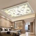 Прямоугольный современный простой потолочный светильник для гостиной  модный светодиодный светильник для спальни  креативный индивидуаль...