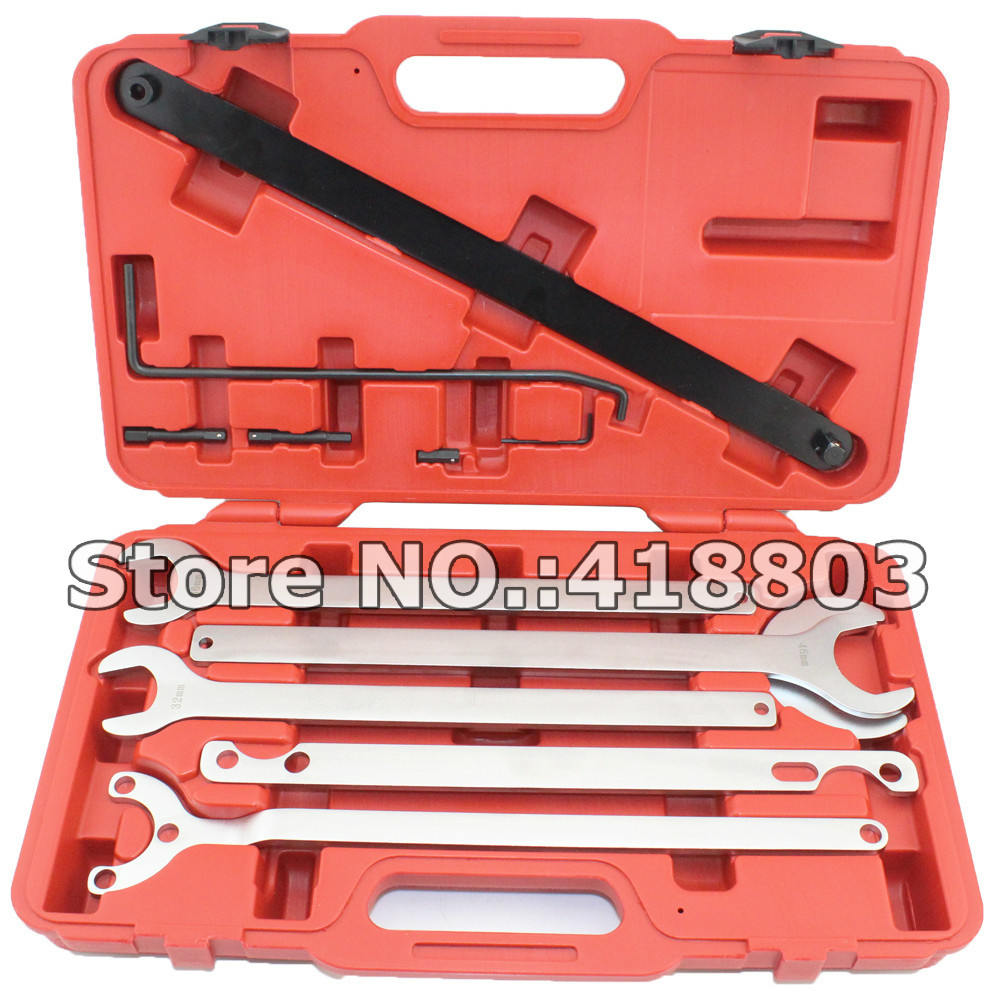 8PCS Fan Clutch Service Tool Set For Mercedes-Benz for BMW VW AUDI 32MM 36MM 38MM 40MM 44.5MM 65MM image