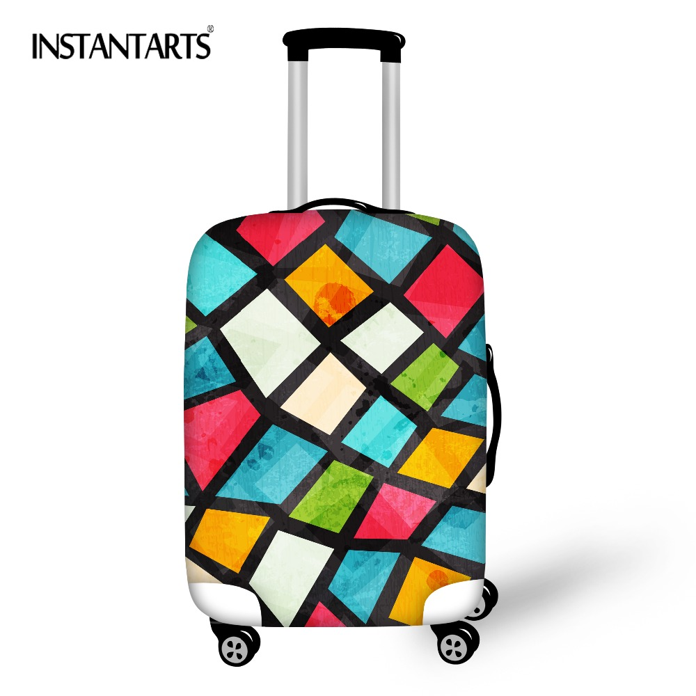 INSTANTARTS Thicken Elastic Luggage Dustproof
