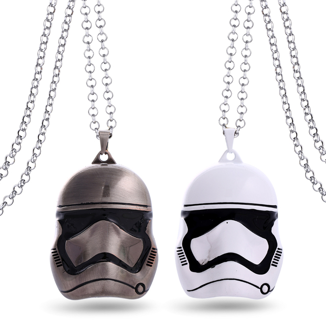 Star Wars Choker Necklace Stormtrooper Master Yoda Boba Fett Pendant Men Women Gift Movie Jewelry Accessories YS11138