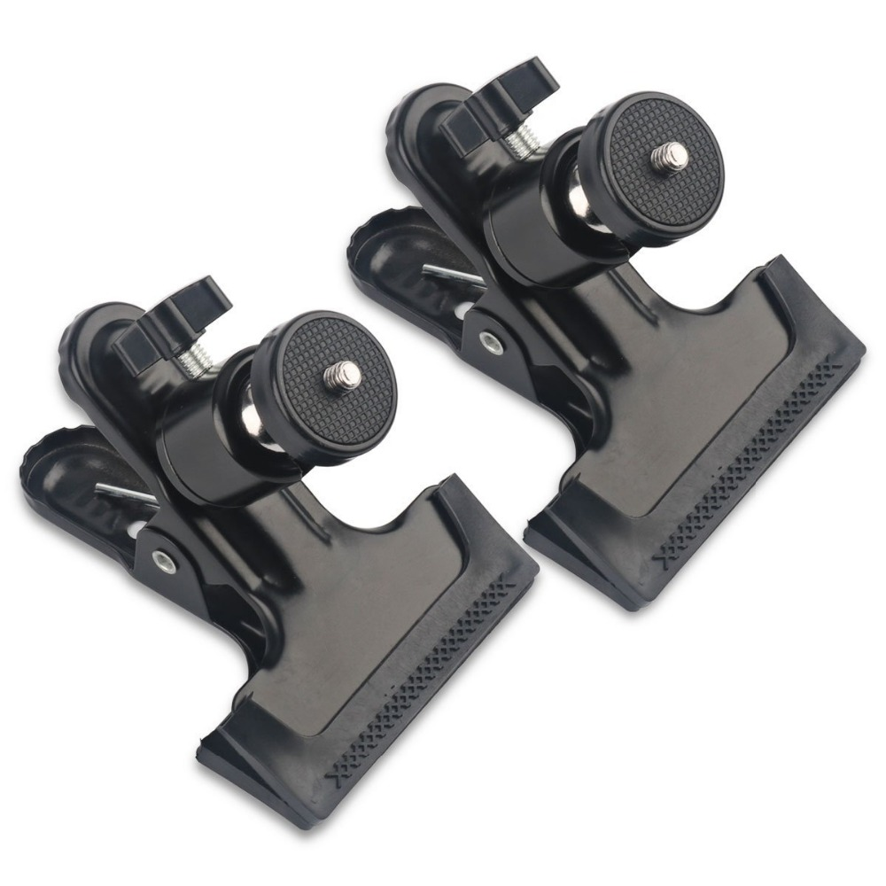 2 Pcs tripod Clip Clamp Mount for HTC Vive/VIVE Pro,for Oculus Rift with 360 Swivel Tripod Mini Ball Head standard 1/4 Screw ,S2 Pcs tripod Clip Clamp Mount for HTC Vive/VIVE Pro,for Oculus Rift with 360 Swivel Tripod Mini Ball Head standard 1/4 Screw ,S