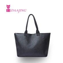 Free shopping 2016 grande capacité d'achat sac à main sacs à bandoulière en cuir PU sacs à bandoulière unique mode grandes femmes fourre – tout dames