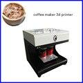 Автоматическая печать лица на кофе 48 Вт селфи латте кофе принтер печенья съедобный принтер печатная машина