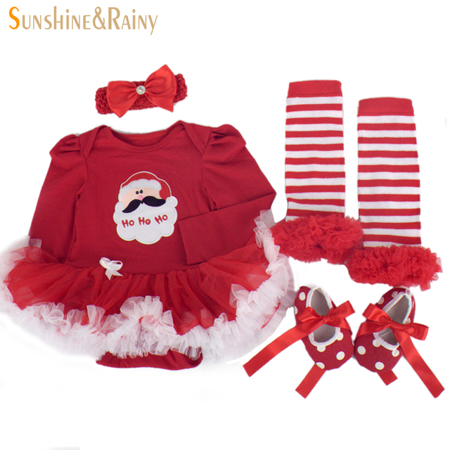 Clearance Newborn Christmas Costumes Baby Girl Clothing Sets Long