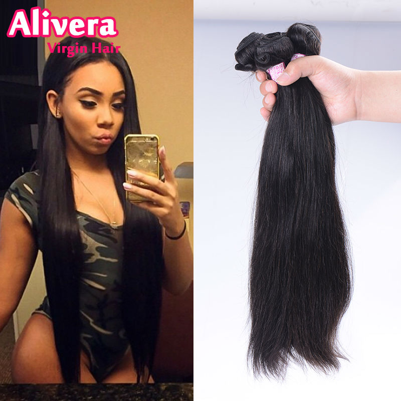 8 42 Inch 4 Bundles10a Virgin Brazilian Straight Hairmixed Length8
