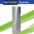 1 Roll 8sqm 800CM x 100CM Car Heat Sound Shield Insulation Proof Mat Pad Deadener Deadening For Firewall Door Roof Trunk Floor