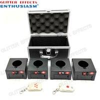 D04 double remote wireless remote control 4 channel receiver box wedding pyro machine