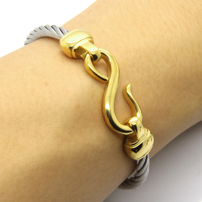 Fashion Charm Armbänder mit Edelstahlhaken Modeschmuck Infinity Love - Modeschmuck - Foto 2