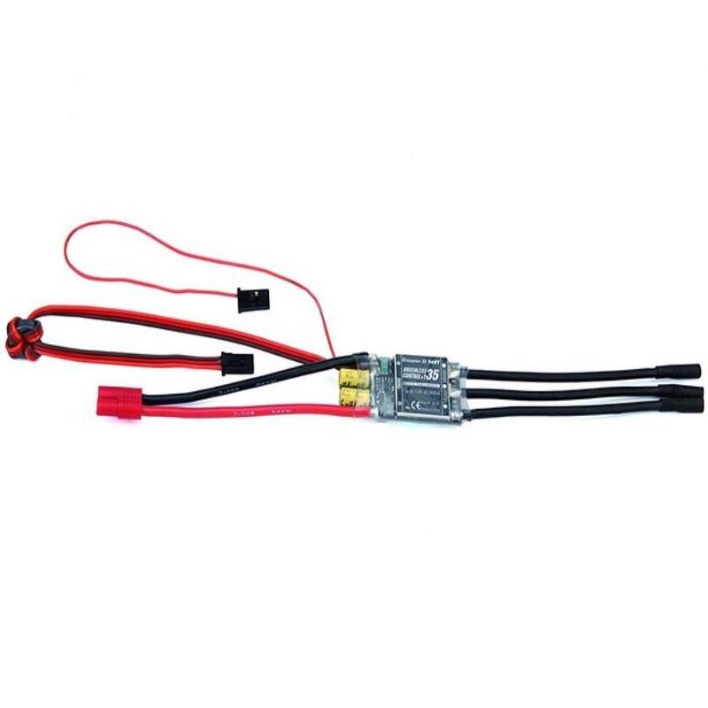 Graupner Brushless Control + T 35 G3.5 ESC HoTT BEC Telemetry graupner brushless control t 70a esc bec telemetry brushless esc speed controller for multicopter
