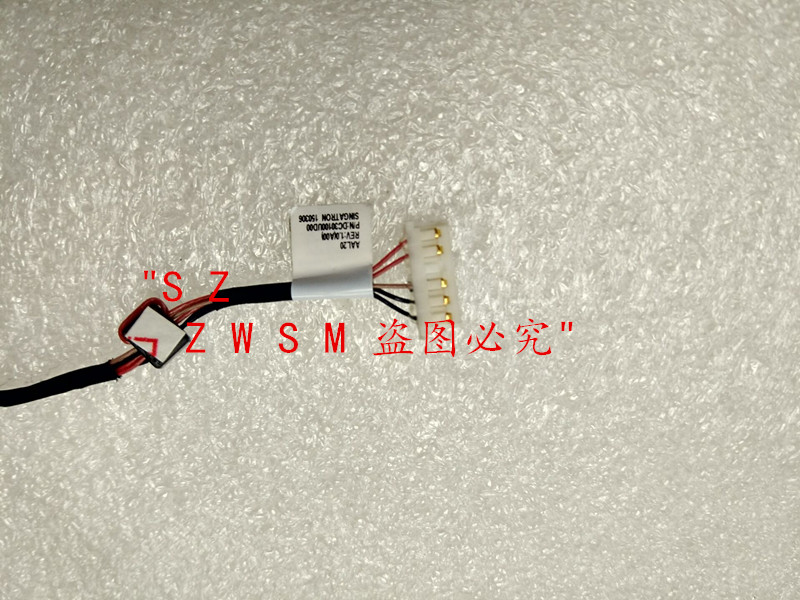 New DC Power Jack Cable Harness For Dell Inspiron 15-5000 5555 5558 DC30100UD00