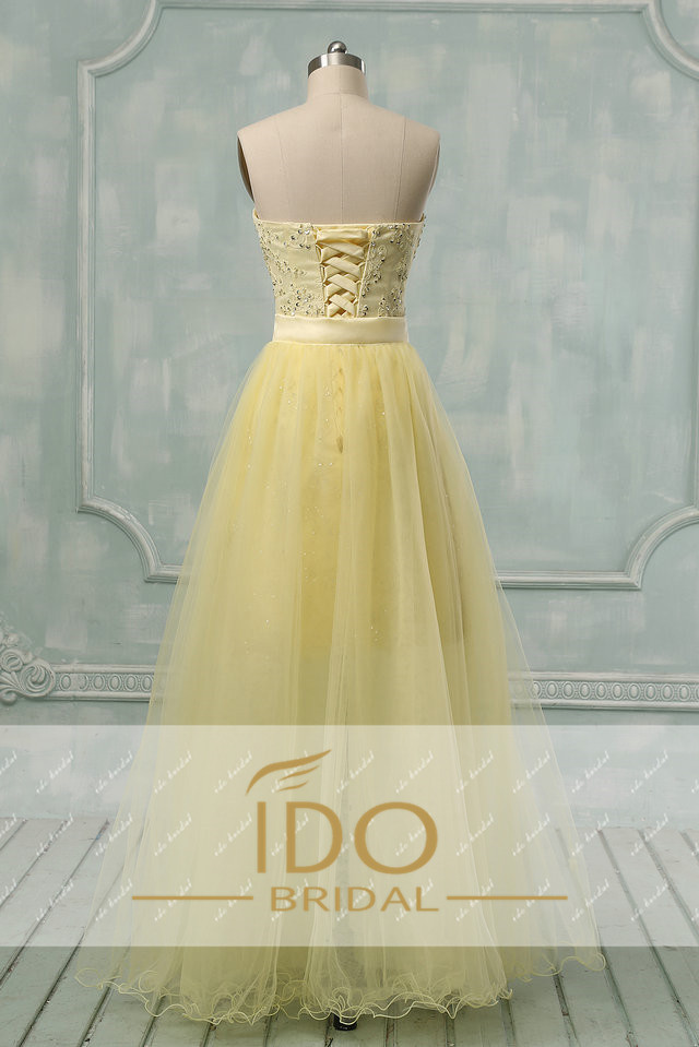 Real Photo Evening Wear Gown New Arrival Black/Yellow Detachable ...