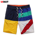 LKBEST New summer men beach shorts vacation brand casual men's board shorts elastic waistband cotton men swimwear shorts N52610