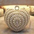 Ladies Rhinestone Clutch Handbag Fashion Ring Designer Women Evening Clutch Bag Bridal Wedding Purses Chain bolsas mujer XA1182C
