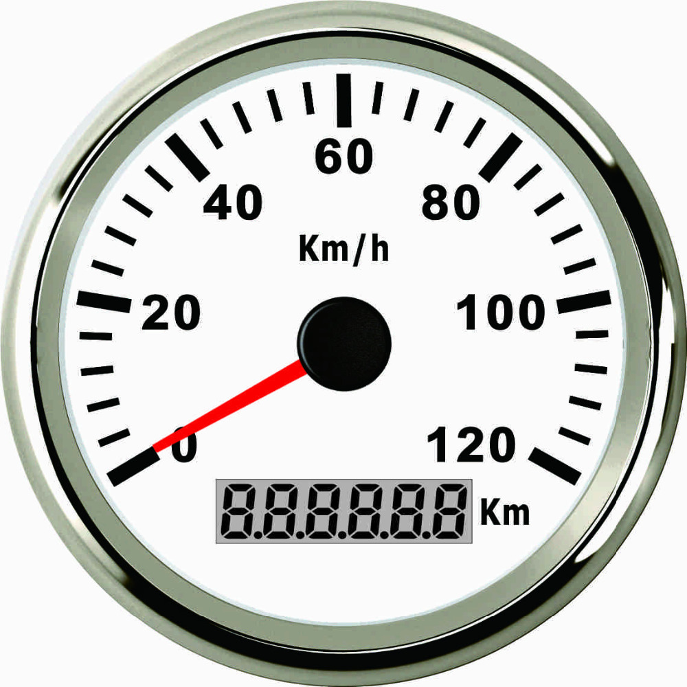 85mm GPS Speedometer Gauge 0 120KM H Speed for Auto ATV UTV Car Truck Motorcycle 12V