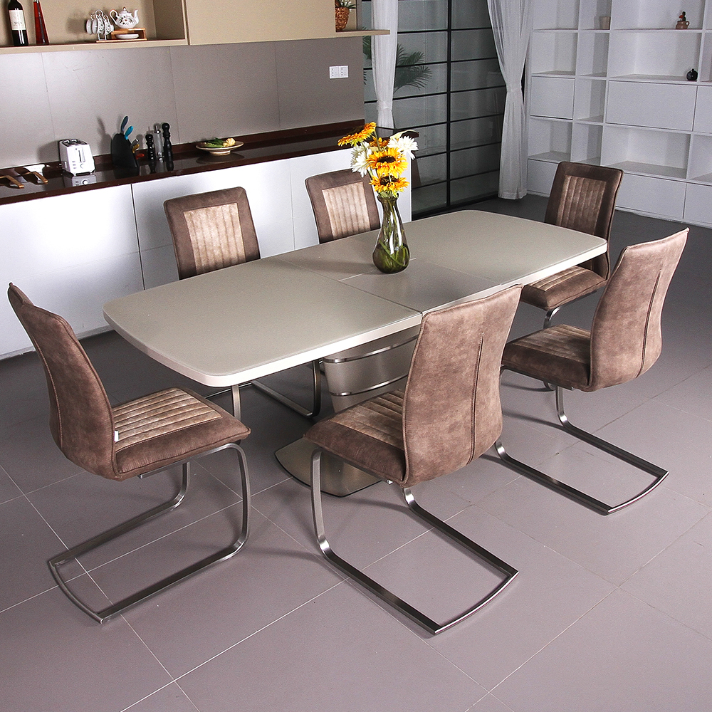Fancy Fix Half Auto Butterfly Dining Table Design Folding For Room Furniture Simple Modern Kitchen In Tables From On