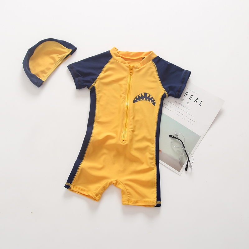 76af3df4c471 2019 2018 Fashion Baby Boys Swimsuit One Pieces Jumpsuit Swimwear ...