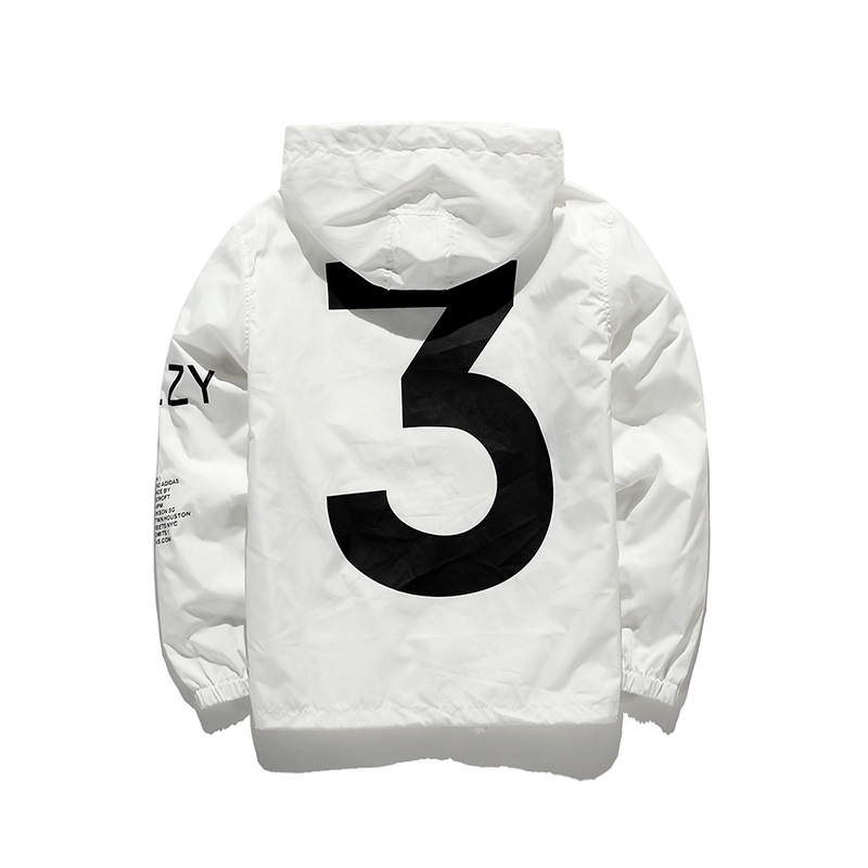 Tour Season 3 Windbreaker Fashion Vitality Jacket Men Y-3 Logo Letter Printed  Jacket Men Thin Casual Clothes Top Coat