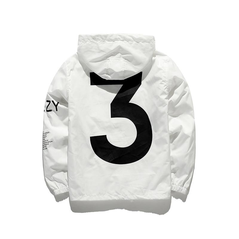 Tour Season 3 Windbreaker Fashion Vitality Jacket Men Y-3 Logo Letter Printed  Jacket Men Thin Casual Clothes Free Shipping