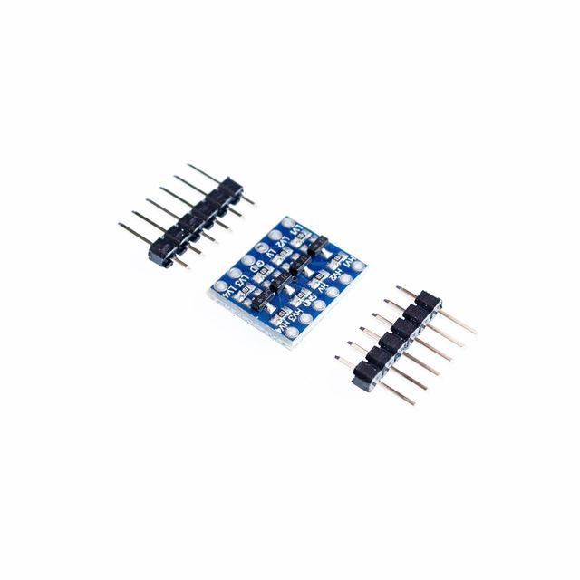10pcs/lot 4 channel IIC I2C Logic Level Converter Bi-Directional Module 5V to 3.3V