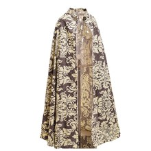 Medieval Cloak Halloween-Costume Reenactments Vintage Fairs Long-Cape Women Royal-Style