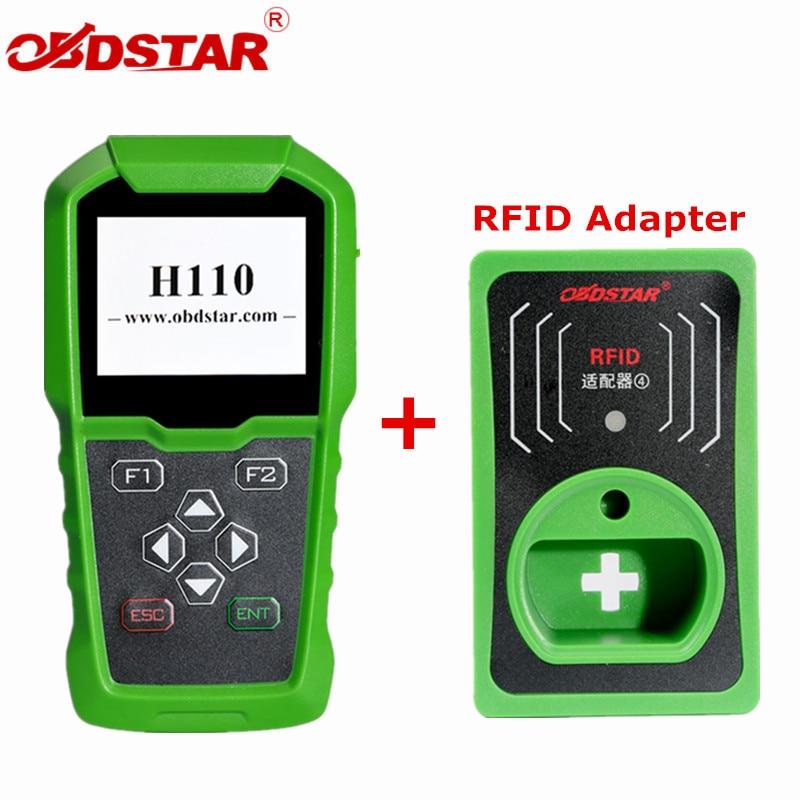 OBDSTAR H110 I + C per MQB IMMO + KM Strumento di Supporto NEC + 24C64 e 4th 5th IMMO Con RFID Adattatore per Audi/SKODA/SEAT