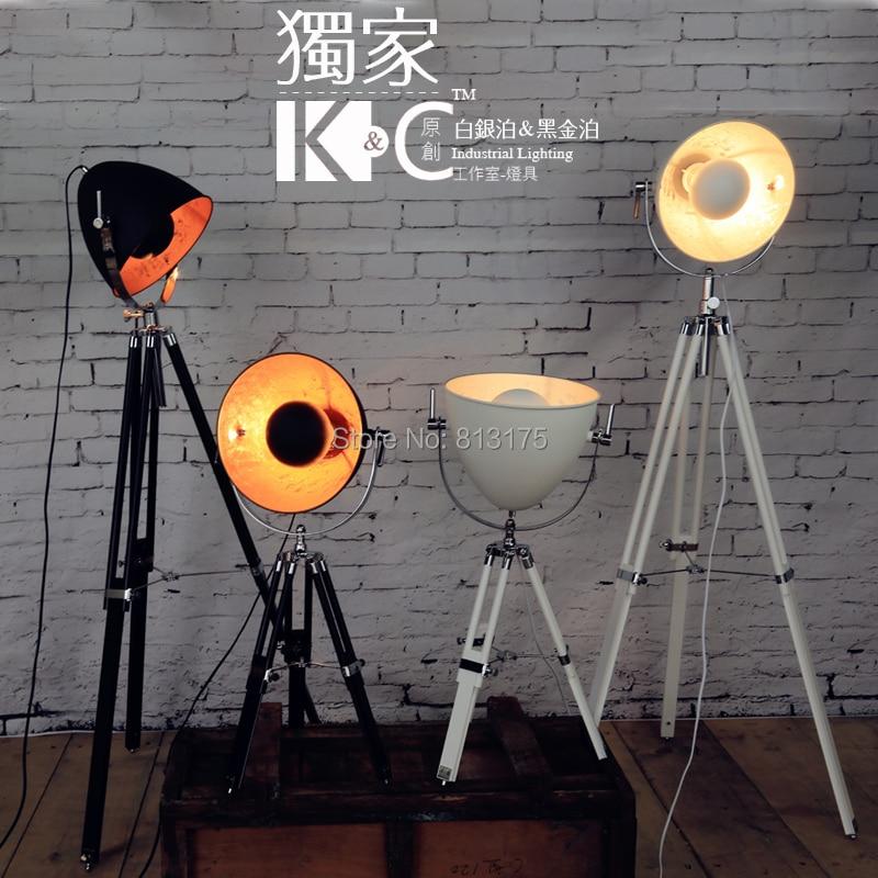 Kc Loft Nordic Industrial Lighting Ikea Floor Lamp Retro