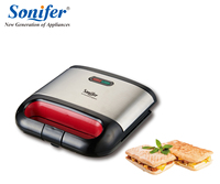 220V Household Electric Sandwich Maker Electric Sandwich Iron Machine Bubble Egg Cake Oven Breakfast Machine Sonifer