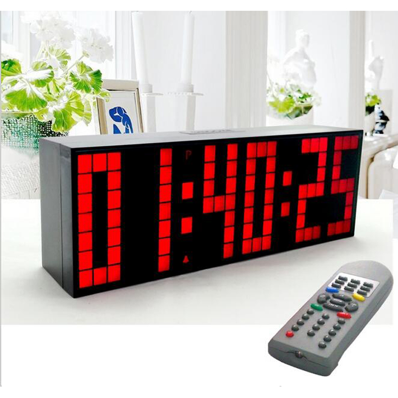 Multifunctionele Digitale Grote LED Snooze Countdown Timer - Huisdecoratie