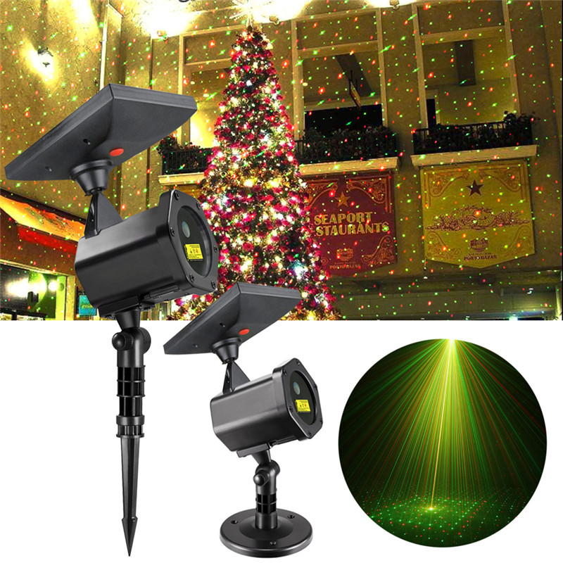 Solar Led Laser Projector Lamp Outdoor 2018 Christmas