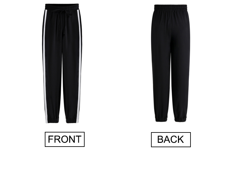 Sweatpants Casual Pants Striped Side Sweat Pants Runing Sport Pant