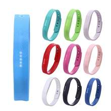 1 unid más nuevo deporte pulsera de silicona pulsera de la correa para fitbit flex 2 smart watch pulsera