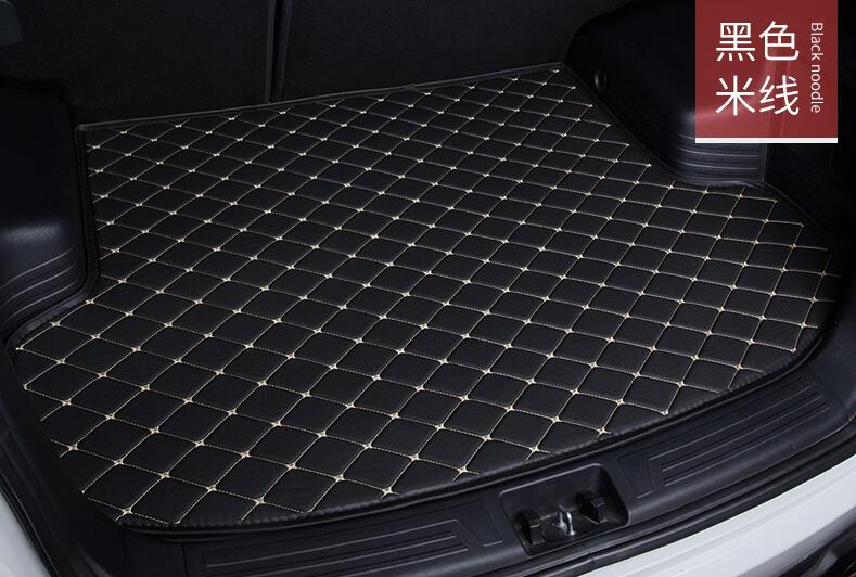 High quality! car-styling custom fit car trunk mat case for Peugeot 2008 5008 4008 3008 car styling tray carpet cargo liner car believe custom car trunk mat for peugeot 5008 508 206 4008 306 307 308 207 cargo liner interior accessories car styling