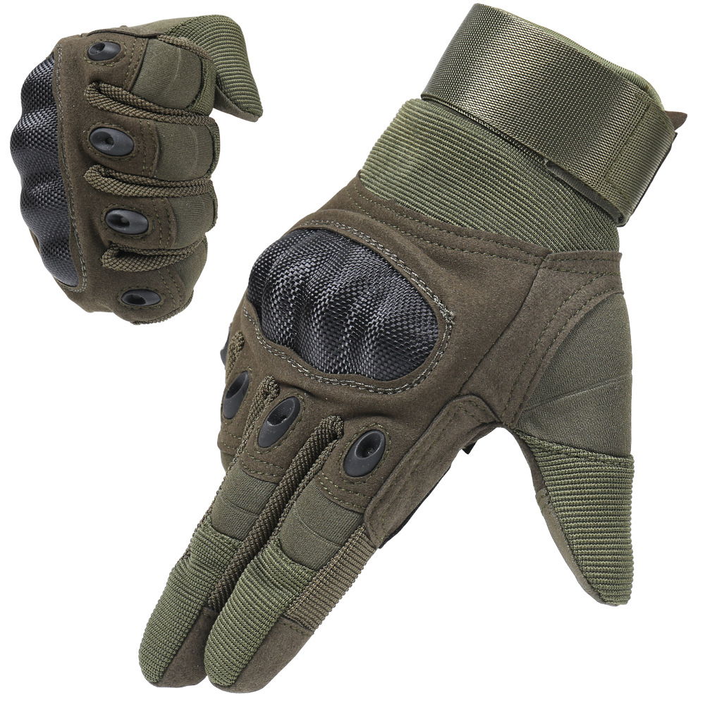 Image 5 - 1 Pair Motorcycle Gloves Breathable Unisex Full Finger Glove  Fashionable Outdoor Racing Sport Glove Motocross Protective  GlovesGloves   -