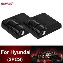 Светодиодный фонарь rovfng для автомобильной двери hyundai solaris