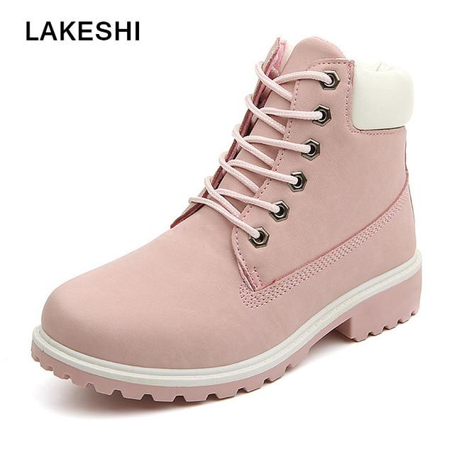 b24cc37b662f Для женщин сапоги Осенняя обувь 2017 полусапожки модная женская обувь из  искусственной кожи осенние ботинки